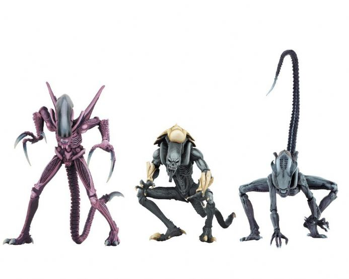 NECA Alien vs Predator Arcade Appearance Predator Action Figure 3 Pack | Buy now at The G33Kery - UK Stock - Fast Delivery